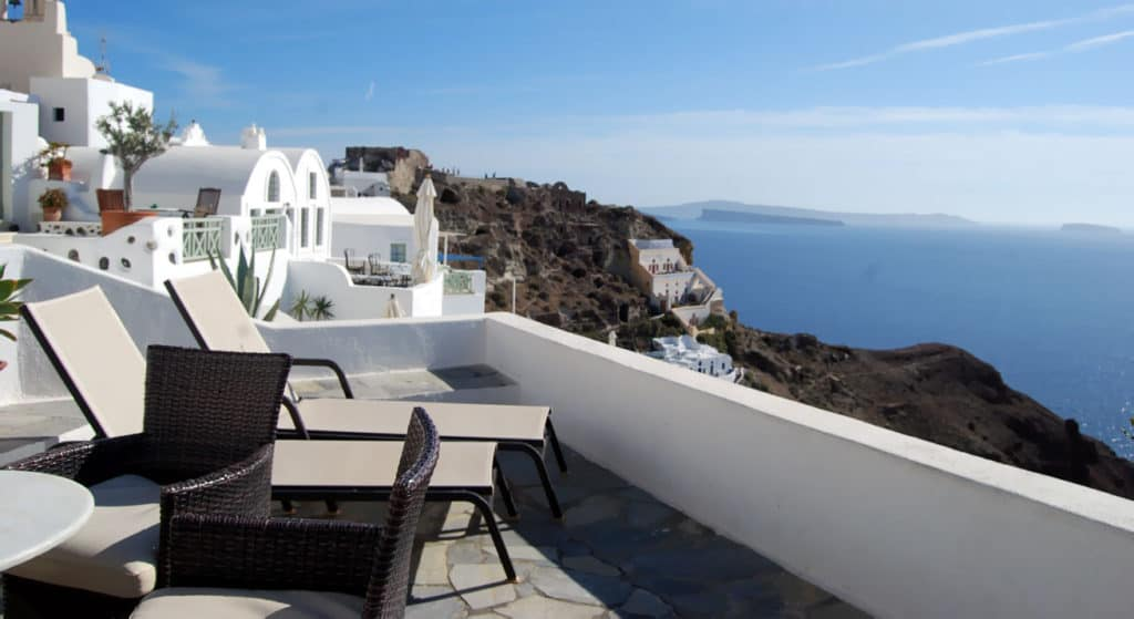 Santorini Greece Hotels Golden Sunset Village