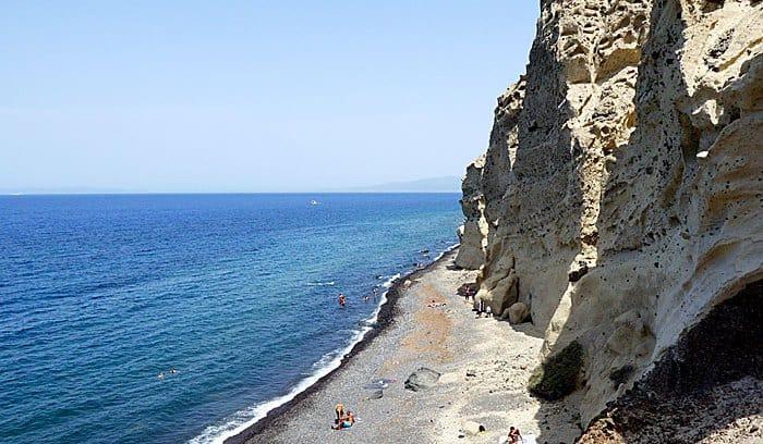 Oia Santorini Katharos Beach