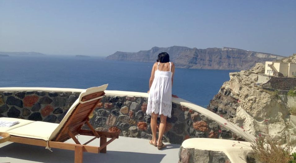 Santorini Greece Hotels Pezoules View