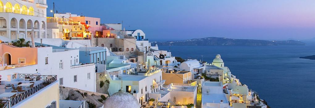 Santorini Greece Fira