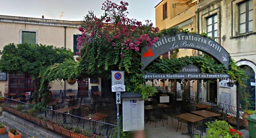La Botte Restaurant Taormina