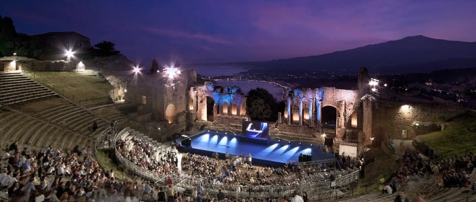 Greek Theatre Taormina Events