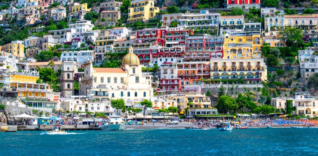 Getting from Naples to Positano
