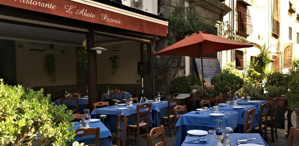 Ristorante L'Abate, Restaurants in Sorrento