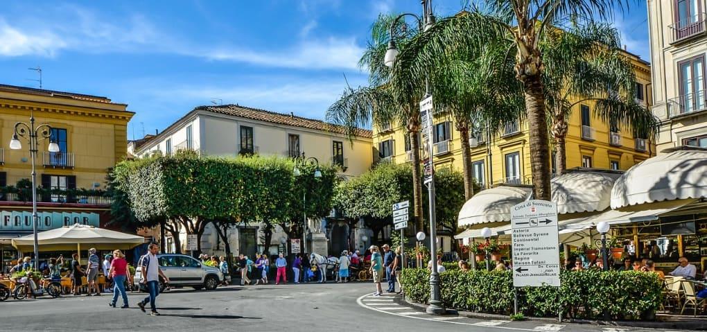Piazza Tasso Sorrento Italy