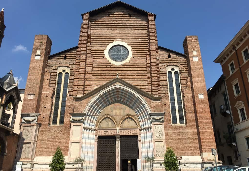Saint Anastasia, Verona