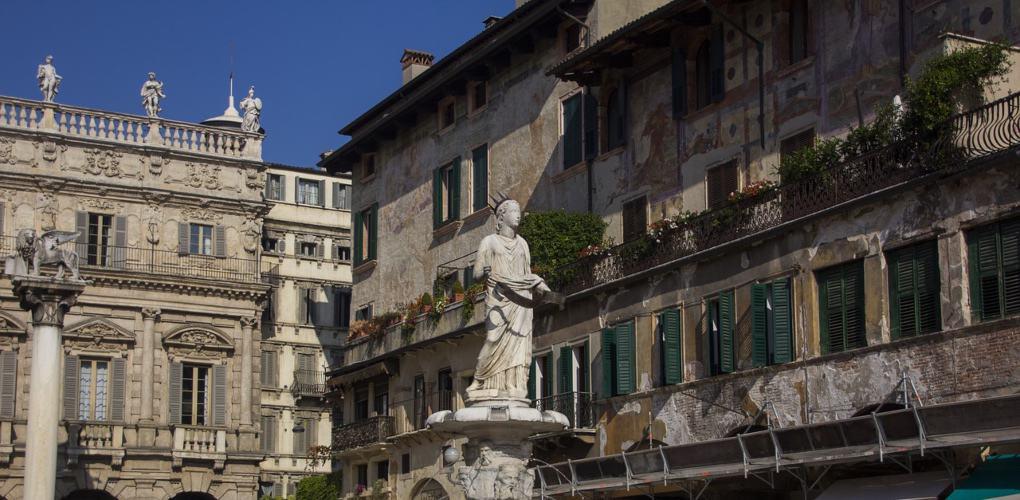 Verona Piazza della Erbe